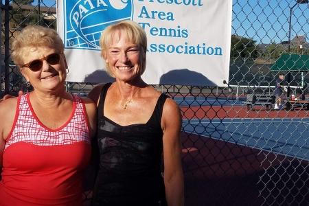 Terri Farnetti & JoAnne Conn- Women's 7.0 Finalists