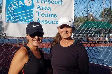 Stephanie Wirick & Toni Sullins- Women's 7.0 Champions