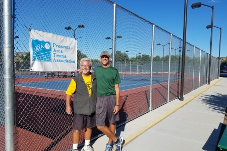 Chris Howard & Dave Hibbs- Men's 9.0 Finalists