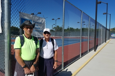 Dick Recknor & Larry Plaster- Men's 7.0 Finalists