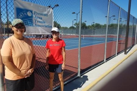 Temmy Bowler & Francine Hackerott- 8.0 Women's Champions