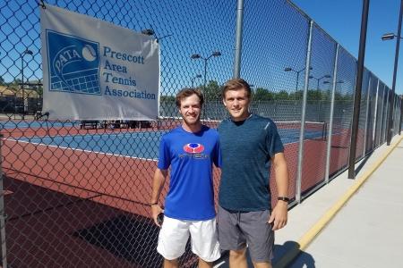 Zach Hackerott & Derek Lakowske- Men's 9.0 Champions