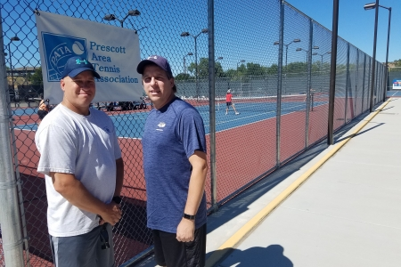 Matt & Andy Mraz- 8.0 Men's Champions