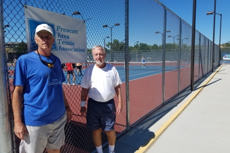 Brian Buckholtz & Charles Carey- 8.0 Men's Finalists