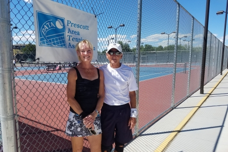 JoAnne Conn & Larry Plaster- Mixed 7.0 Champions