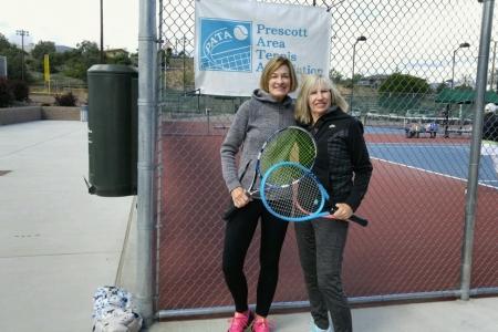 Diane McClure & Rhonda Stallings- Women's 6.0 Champions