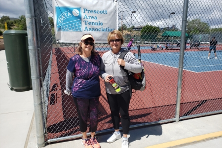 Susan Spear & Deb Oberle- Women's 6.0 Finalists
