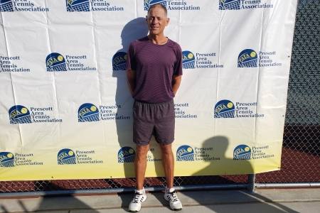 Mens 50 Singles Champion - Dave Hibbs
