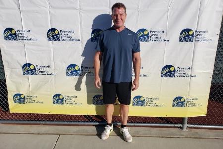 Mens 50 Singles Finalist - Kevin Woog