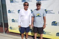 Mens 55 Doubles Champions - Steve Montoya & Randall Sarten
