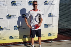Mens 55 Singles Champion - Reed Radosevich