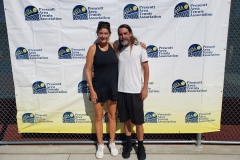 Mixed 40 Doubles Champions - Andrea Meyers & Jason Downes