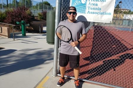 Carlos Rivas- 4.5 Men's Singles Finalist