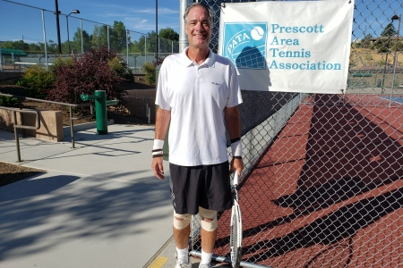 John Curtis- 4.5 Men's Singles Champion