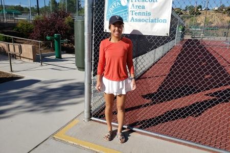 Sherry Gao- Women's 4.5 Finalist