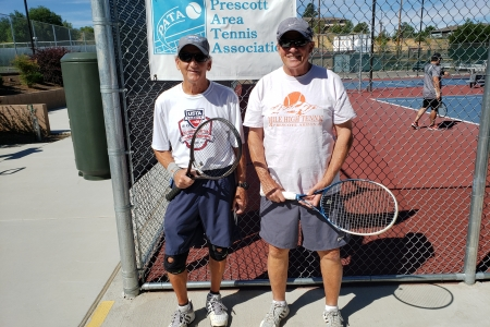 Larry Plaster & Rick Merring- Men's 7.0 Finalists