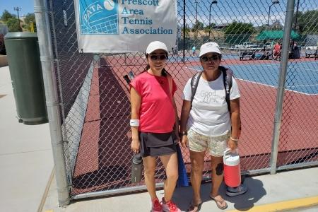 Xiao Fang Reese & Fay Matsumoto- Women's 8.0 Finalists