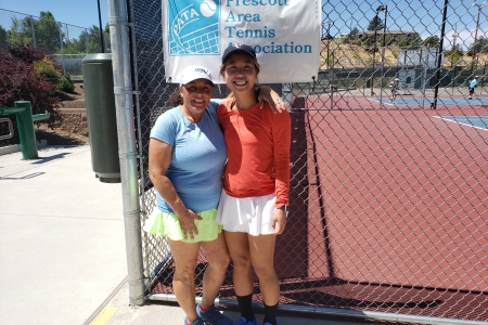 Loredana Fitzpatrick & Sherry Gao- Women's 8.0 Champions