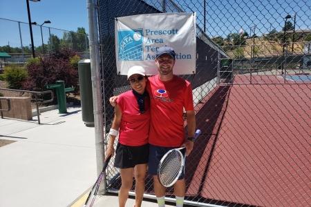 Xiao Fang Reese & Zach Hakerott- Mixed 8.0 Champions
