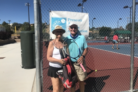 Mary Cobey & Paul Waldfogel- Mixed 7.0 Champions
