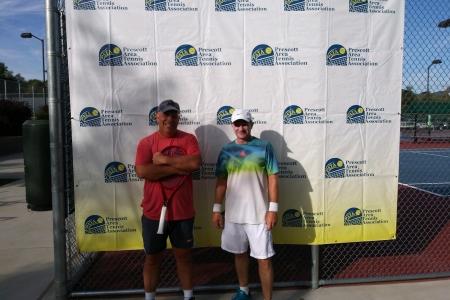 Men's 50 Finalists - Gary Hattendorf & Chris Tipp
