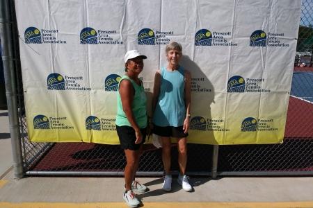 Women's Open Champions - Fay Matsumoto & Sarah Bartling