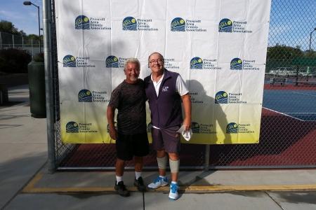 Men's 50 Champions - Chris Howard & Kelly Davidson